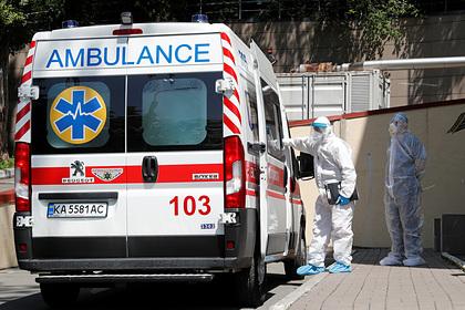 На Украине зафиксирован рекорд по числу умерших от коронавируса