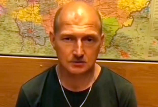 Андрей Ежов на допросе