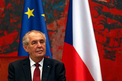 Президент Чехии решил не приезжать на парад Победы в Москву