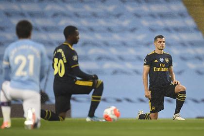 Футболист «Арсенала» получил тяжелую травму в столкновении с партнером по команде