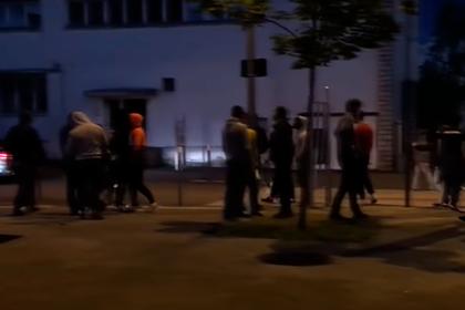 Французская полиция арестовала устроивших беспорядки чеченцев