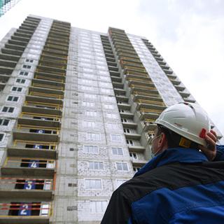 Российский рынок жилья обвалился вдвое