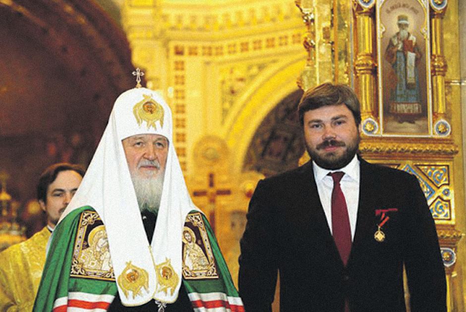 Патриарх Кирилл и Малофеев
