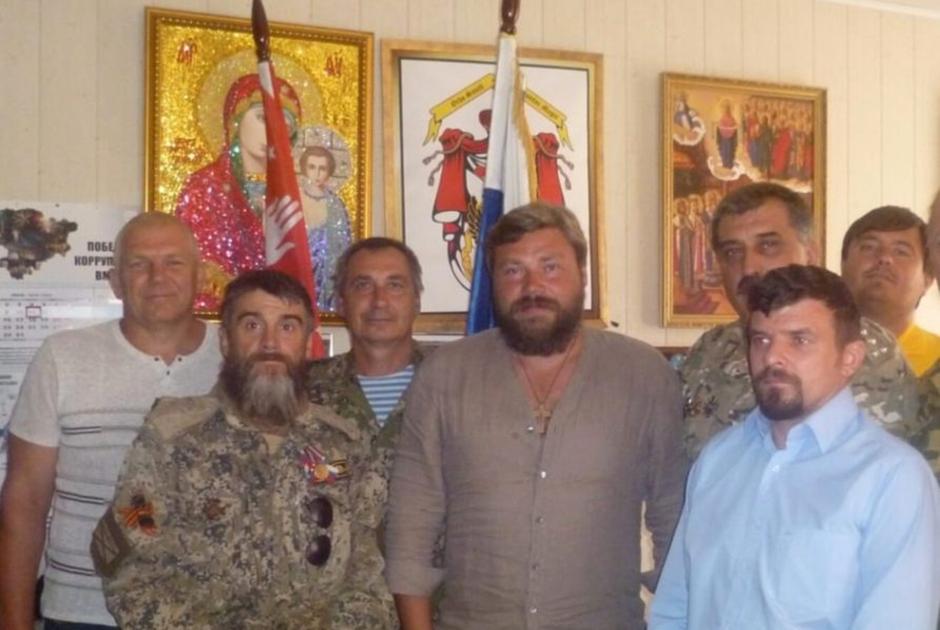 Малофеев на встрече Союза добровольцев Донбасса
