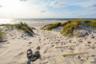 Полсотни метров молочно-белого песка, раскинувшиеся по берегу пляжа Скаген в рыбацкой деревушке Дании, пару веков назад были излюбленным сюжетом европейских живописцев: сверкающие на солнце дюны, пенистые морские волны, сказочная растительность. Художники основали здесь собственную школу — очарованные природой и самобытностью местных жителей, они презирали искусство как удовольствие для богачей и считали, что их миссия — показывать реальную жизнь обычных людей.