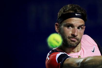 Теннисный турнир закрыли из-за заражения Григора Димитрова