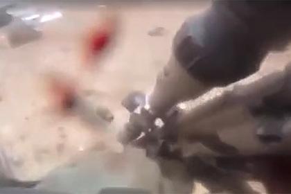 Ранение русскоязычного солдата французского Иностранного легиона попало на видео