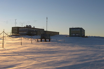 На российской антарктической станции «Мирный» произошел пожар