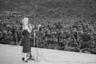Выступление Мэрилин Монро в Корее перед американскими солдатами. Южная Корея, 16 февраля 1954 года.