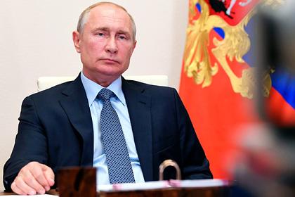 Путин заявил об отсутствии растерянности в обществе из-за пандемии