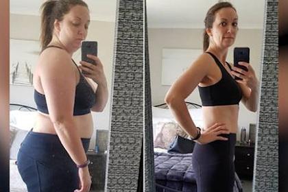 Женщина сбросила 37 килограммов и рассказала историю своего похудения