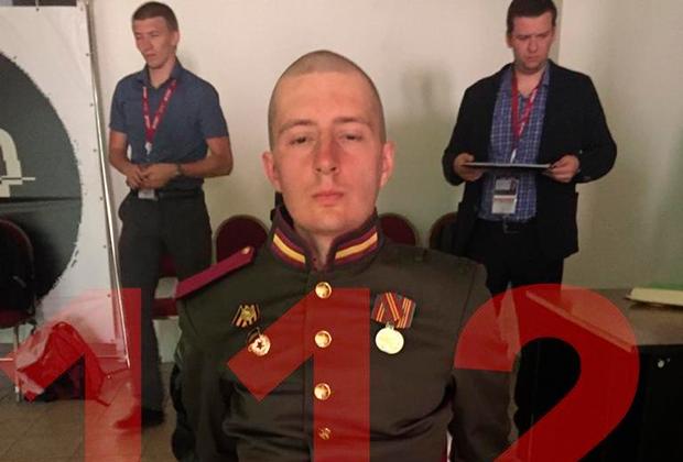 Задержанный солдат