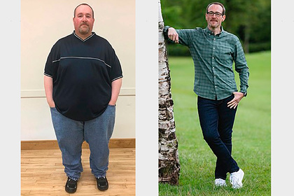 Мужчина сбросил 133 килограмма и поделился историей похудения