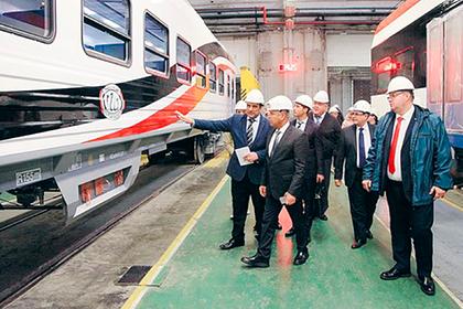 Россия отправила в Египет первую партию пассажирских вагонов