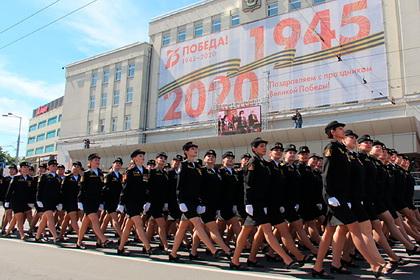 Потерявшую туфлю участницу парада Победы наградили