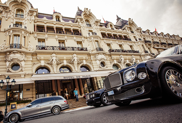 Монте-Карло, Монако, Hotel de Paris