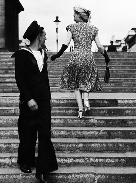 Моряк на прогулке, 1955 год