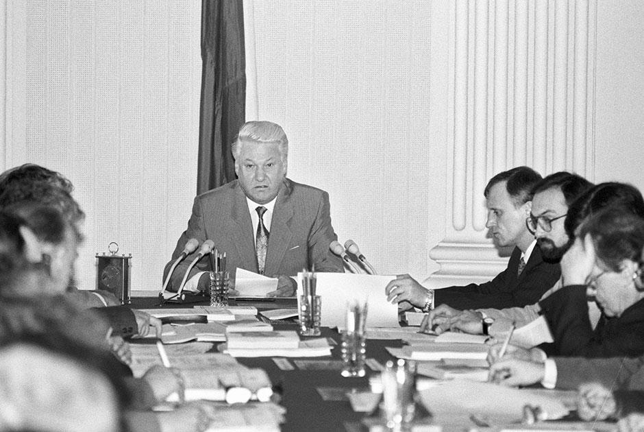 Заседание Конституционной комиссии