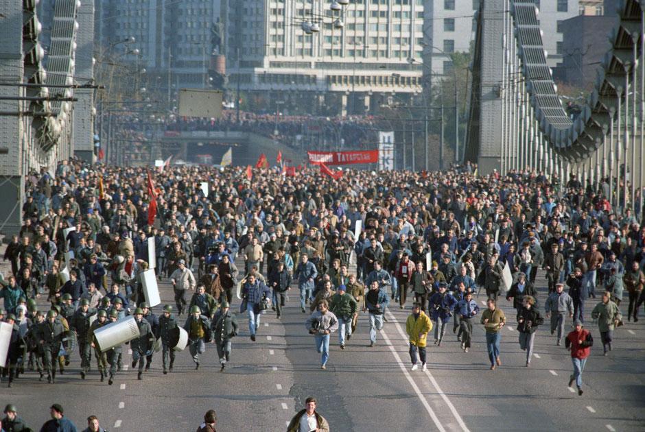 Москва, 3 октября 1993 года