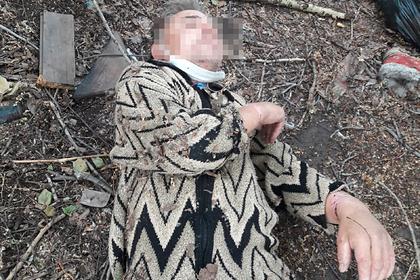 В российском регионе объяснились за брошенного у гаражей пациента в памперсе
