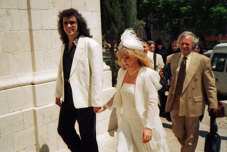 Алла Пугачева и Филипп Киркоров перед бракосочетанием, 1994 год