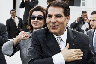 Лейла Бен Али и Зин аль-Абидин Бен Али