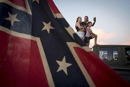 В американском штате задумали поменять «расистский» флаг
