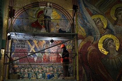 Стало известно о судьбе мозаики с Путиным из храма Минобороны
