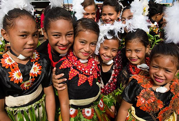 Жители Тонги