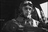 Портрет в кабине бомбардировщика Хенкель He-111 H-3. Аэродром Тронхейм Варнес, Норвегия, 1940 год.