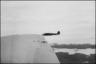 Фото сделано с бомбардировщика Хенкель He-111 H-3 c места бокового стрелка. Норвегия, 1940 год.