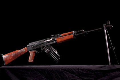Рассекречен экспериментальный ручной пулемет Калашникова