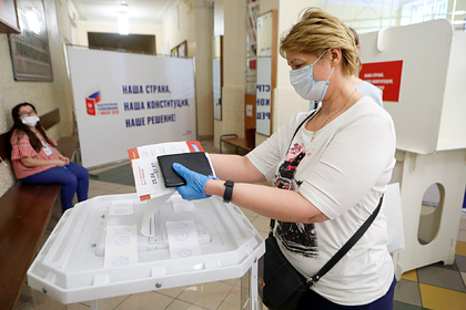 В голосовании о поправках в Конституцию поучаствовали более 40 миллионов россиян