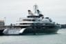Изначально 133,9-метровую Serene создавали для российского миллиардера, основного акционера алкогольной компании SPI Group Юрия Шефлера — лодка обошлась ему в 330 миллионов долларов. Строили ее три года на итальянских верфях Fincantieri, дизайн экстерьера выполнило дизайнерское бюро Espen Oeino, а интерьер разработала студия Raymond Langton Design. <br></br> Позже владельцем яхты стал наследный принц Саудовской Аравии Мухаммед ибн Салман Аль Сауд — как писали СМИ, он якобы не смог устоять, увидев белоснежные палубы лодки во время отдыха на юге Франции. Его помощник совершил сделку по покупке всего за час — ходят слухи, что ее сумма достигала полумиллиарда евро.