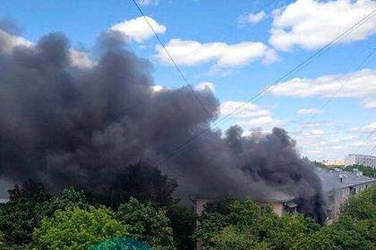 В Москве произошел взрыв в жилом доме