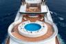 Долгое время Serene входила в тройку крупнейших яхт отечественных миллиардеров и была самой большой яхтой в мире, которую можно взять напрокат за 3,75 миллиона евро в неделю.  <br></br> Одним из самых известных ее арендаторов был сооснователь компании Microsoft Билл Гейтс — вместе с семьей он снимал яхту для прогулок по Средиземному морю.