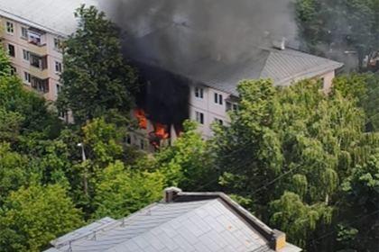 При взрыве в жилом доме в Москве погиб человек