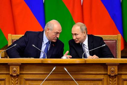 Александр Лукашенко и Владимир Путин Фото: Александр Коряков / «Коммерсантъ»
