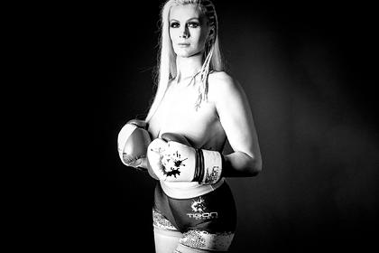 Девушка-боец MMA бросила спорт ради участия в интимных съемках