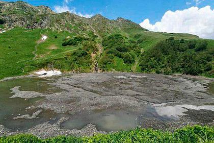 В Сочи исчезло целое озеро