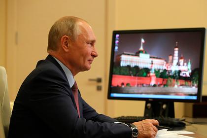 Путин поздравил кораблестроителей иотметил ихвклад вобороноспособность страны