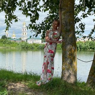 Анастасия Волочкова в Дивееве