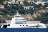 Авангардная, напоминающая своими очертаниями подводную лодку суперъяхта А обошлась миллиардеру белорусского происхождения Андрею Мельниченко в 440 миллионов долларов. Строительство ее проходило на верфи Blohm + Voss, морскую архитектуру разработали Francis Design, а дизайн экстерьера и интерьера — Philippe Starck. <br></br> Каждый из 1767 квадратных метров 119-метровой яхты отделан дорогостоящими, изысканными материалами — так, один только смеситель в ванной на борту оценивается в 40 тысяч долларов, а перила лестницы — в 60 тысяч.