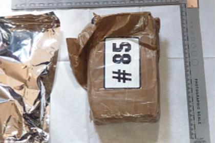 Наркокурьер случайно принес восемь килограммов кокаина прямо в руки полицейским
