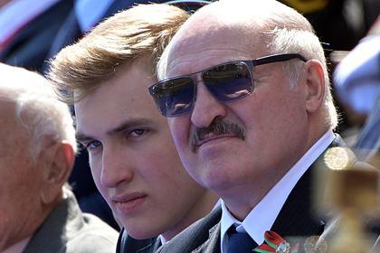 Коля Лукашенко ушел из школы