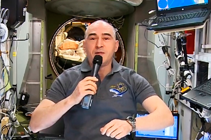 Российский космонавт впервые в истории проголосовал в космосе онлайн