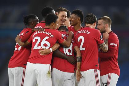 «Манчестер Юнайтед» разгромил аутсайдера АПЛ и приблизился к зоне Лиги чемпионов