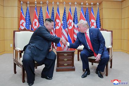 В Южной Корее захотели новой встречи Трампа с Ким Чен Ыном