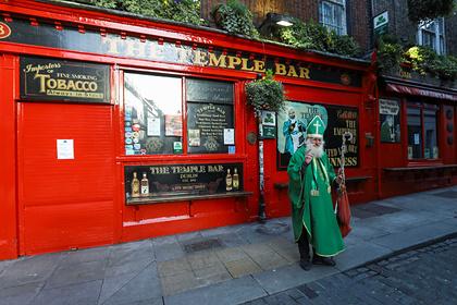 Ирландцы начали покупать аномально много пива