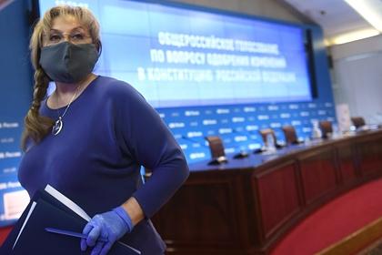 Памфилова оценила явку на голосовании по поправкам к Конституции
